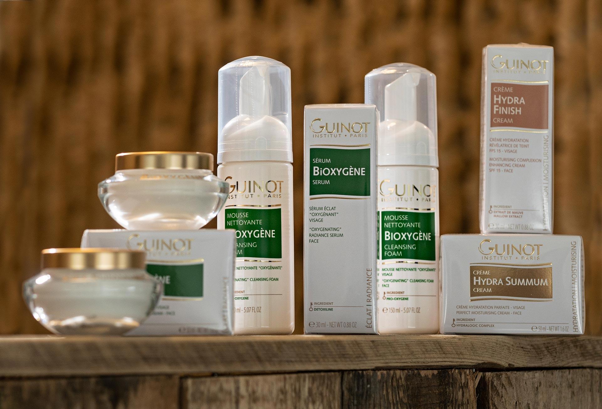 Bonnys Beauty - Guinot huidverzorgingsproducten - Guinot Groen